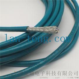 高柔性耐弯曲拖链工业以太网通讯屏蔽电缆网线