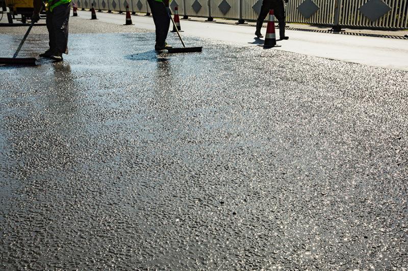 半柔性抗車轍路面專用灌漿料