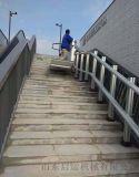 天桥地下通道斜挂电梯安装金华市启运专业定制残联电梯