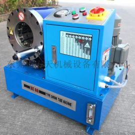 挖机液压胶管压管机 液压高压管压管机 油管扣压机
