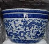 批发陶瓷花盆厂家生产栽树陶瓷大缸鱼缸定做钧釉盆花缸加工