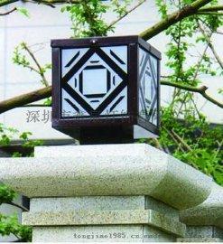 鑫辰灯饰  厂家定制 LED节能柱头灯 户外照明柱头灯 柱头灯生产厂家