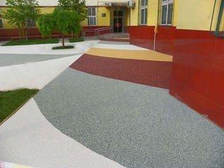 彩色透水混凝土做法详解3 衡州透水地坪厂家