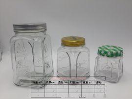 批發玻璃瓶玻璃罐糖果罐
