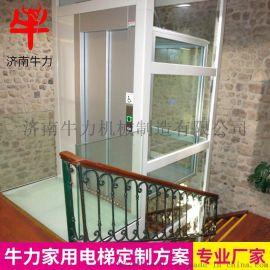 定制无机房小型家用别墅电梯升高三层四层五层