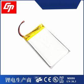 聚合物锂电池803050 1200mah 3.7v播放器,美容仪充电锂电池