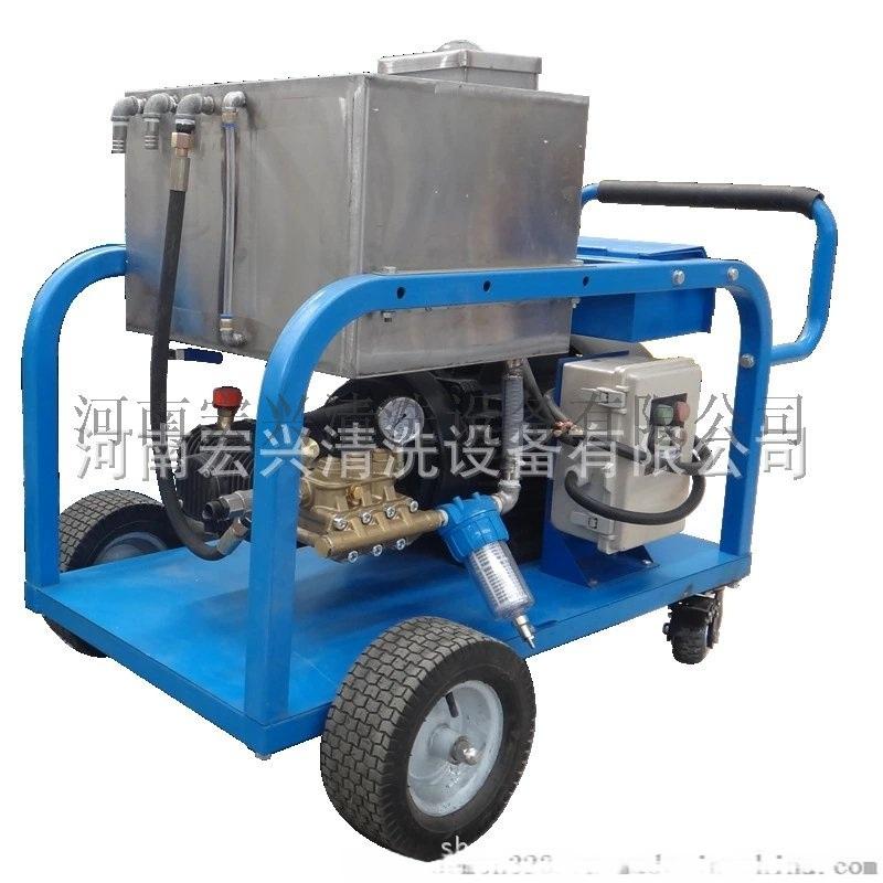除油污清洗機 高壓水油桶除漆清洗機電動