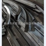 不锈钢蚀刻线条 镜面不锈钢弧形线条 钛金不锈钢包边条  厂家定制