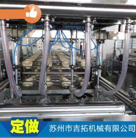 厂家直销 全自动大型定量灌装机 液体灌装机 果汁酒水灌装机械