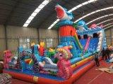 河南兒童充氣城堡滑梯兒童遊樂新廠家