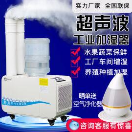 海峡德越工业加湿器YD-C12不锈钢大雾量加湿