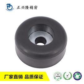 工厂定制生产家具黑色丁苯橡胶脚垫耐磨防震