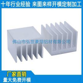 定制铝合金电子散热器,铝型材电子散热片表面处理