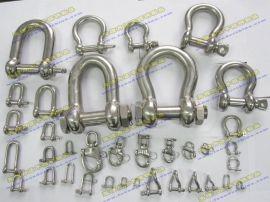 不锈钢起重吊索具配件-不锈钢卸扣