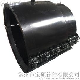 Φ160*125異徑管哈夫搶修接補償器卡箍