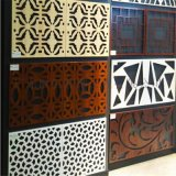 裝飾雕花鋁幕牆 來圖定製鏤空鋁窗花單板幕牆