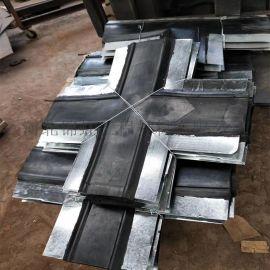 钢边橡胶止水带十字接头 平板型和立体型