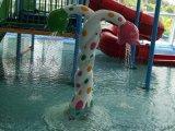 兒童戲水小品大象滑梯 玻璃鋼水上樂園遊樂設施廠家