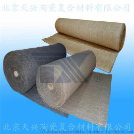 天兴 涂蛭石陶瓷纤维布  防火布 保温布