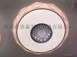 致赢厂家直销LED吸顶灯正白三段调光500MM48W