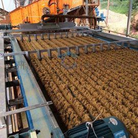 洗砂履带压滤机 沙场石场专用清淤污水处理