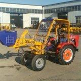 四輪拖拉機改裝裝載機 前卸式鏟車