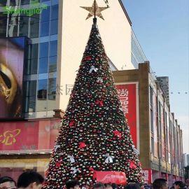 广州圣杰仿真圣诞树,仿真发光圣诞树