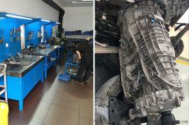 保时捷帕拉梅拉变速箱顿挫维修,自动变速箱维修案例