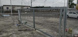 东莞钢板网价格,板状冲板护栏图片