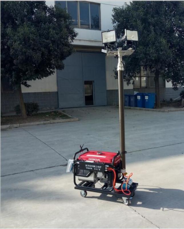 【隆業專供】 全方位移動自動升降式工作燈