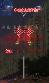 双耳LED中国结灯 灯笼厂家 1.5米高 中国结
