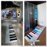 led地板地面鋼琴感應腳踩地板燈發光音樂樓梯燈鋼琴