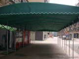 推拉雨篷/推拉雨棚/常佳遮陽廠家定製推拉蓬