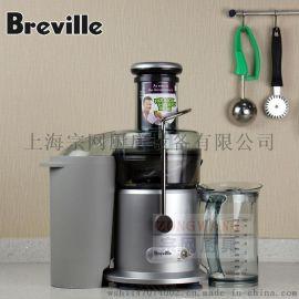美国Breville JE98XL商用榨汁机 变速850W 铂富 6500-12000转预售