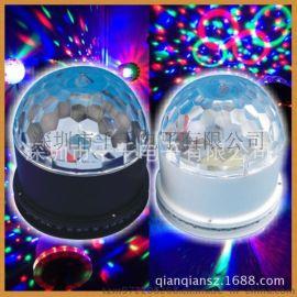 厂家直销 水晶魔球灯 LED舞台灯  KTV酒吧婚庆彩灯批发XL18