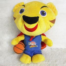 毛绒玩具厂家,促销玩具定做,公仔,吉祥物老虎