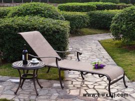 特斯林铸铝躺椅BMLQ13715|铸铝休闲桌椅|户外泳池躺椅