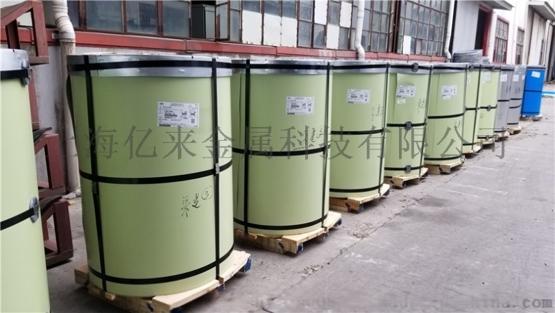 宝钢氟碳彩涂板代理商,浅绿色彩涂板
