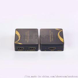 艾尼奇科技 MINI HDMI分配器1X2 4K2K