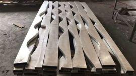 厂家定制弧形铝方通大堂酒店专用仿木纹波浪造型铝单板
