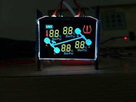 定制胎压计LCD液晶屏 LED背光源