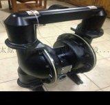 吉林延边风动潜水泵浮杆式潜水泵黑色隔膜泵