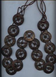 木制圆形腰链