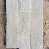 新品促銷 別墅白色外牆文化石 白砂岩石圖片 白色文化磚價格圖片