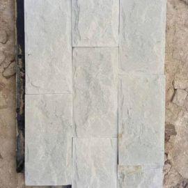 新品促销 别墅白色外墙文化石 白砂岩石图片 白色文化砖价格图片