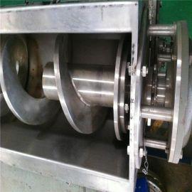 双轴螺旋输送机 螺旋输送机参数 U型污泥螺旋输送机