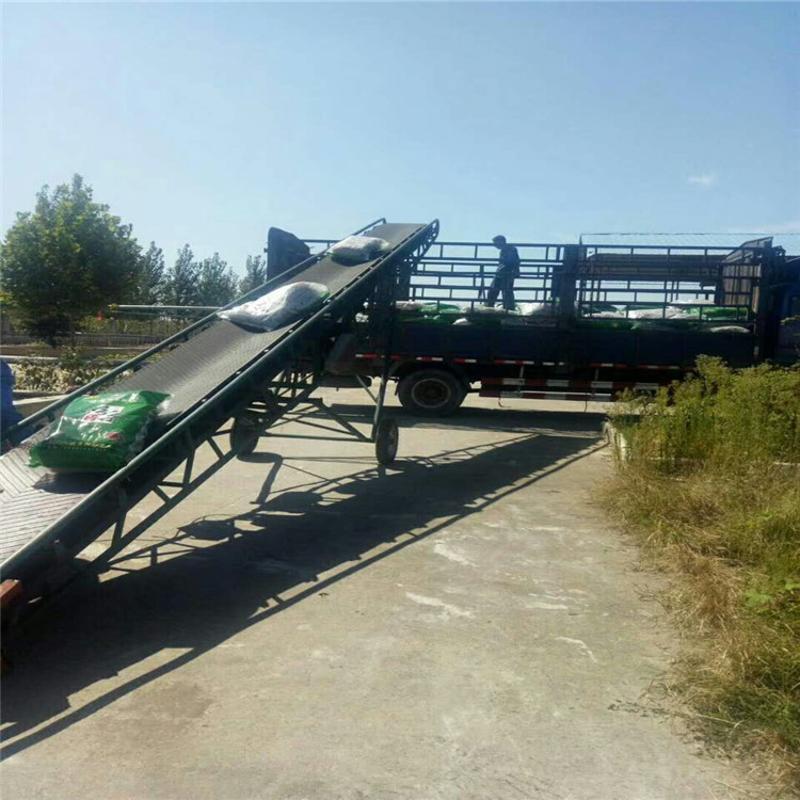 热销输送机厂家价格 移动升降输送机 胶带输送机滚筒