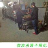 厂家畅销微波茶叶杀青机 食品级输送带 自动化 24千瓦微波杀青机