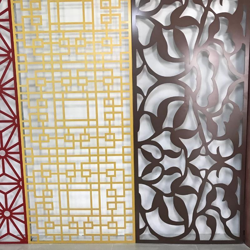 外牆雕花鏤空鋁單板 訂製花型雕刻藝術鋁單板幕牆