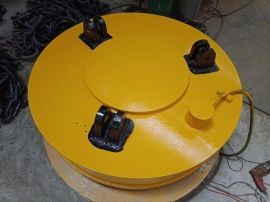 φ100电磁吸盘 **磁力 磨刀机电磁吸盘 磁力吊